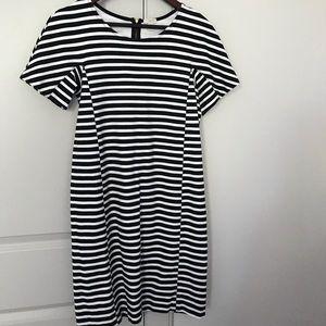 J Crew Mercantile Striped Dress
